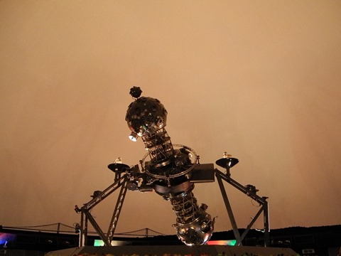UPP23/3投影機@明石市立天文科学館