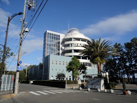 ディスカバリーパーク焼津天文科学館前景