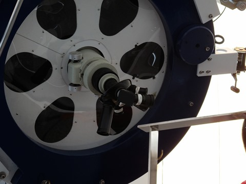 80cm反射赤道儀_カセグレン焦点接眼部@ディスカバリーパーク焼津