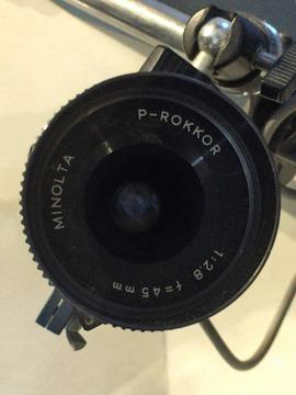 MS10-AT補機のP-ROKKOR 45mm/F2.8@向日市天文館