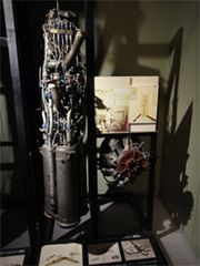 ベルX-1ロケットエンジン展示