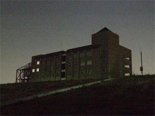 河原から見た桜宮高校